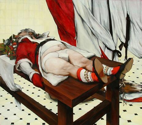 Imagen de Los últimos días de Papá Noel según Biljana Djurdjevic
